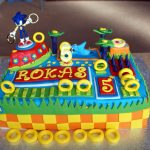 Sonic Birthday Cake Sonic The Hedgehog Birthday Cake Hobcraft Blog