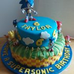 Sonic Birthday Cake Sonic The Hedgehog Cake Recipes To Cook Pinterest Sonic