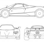 Sports Car Coloring Pages Sport Car Coloring Page Free Printable Coloring Pages