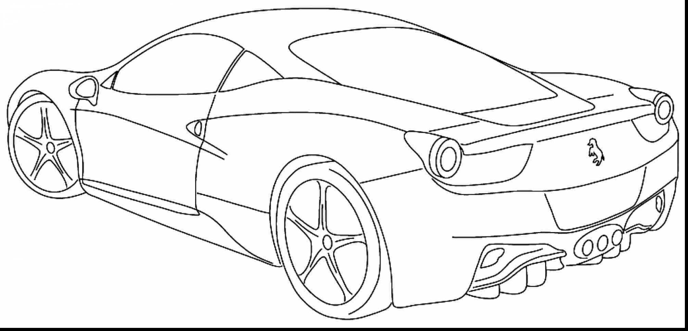 Sports Car Coloring Pages Supercar Coloring Pages At Getdrawings Free For Personal Use