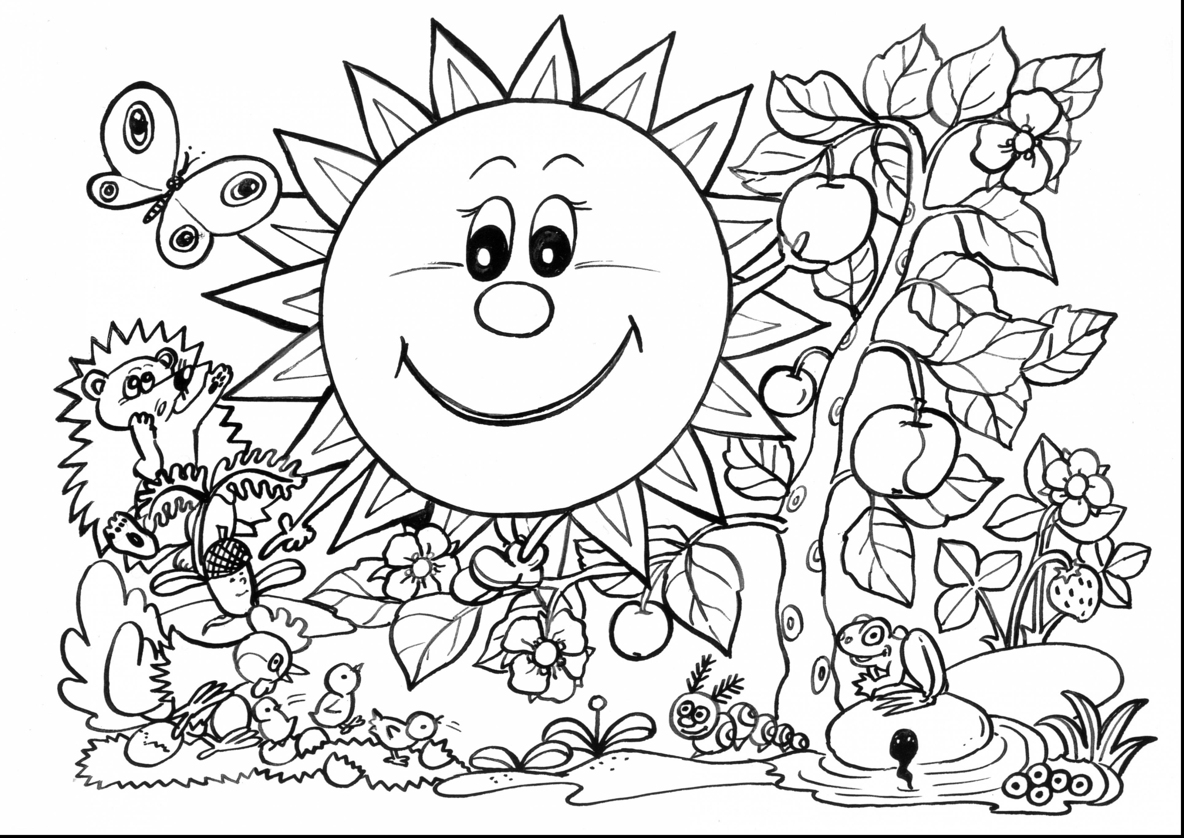 Spring Flowers Coloring Pages Epic Spring Flower Coloring Pages 81 On Gallery Ideas With For
