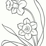 Spring Flowers Coloring Pages Spring Flowers Coloring Pages Wpvote