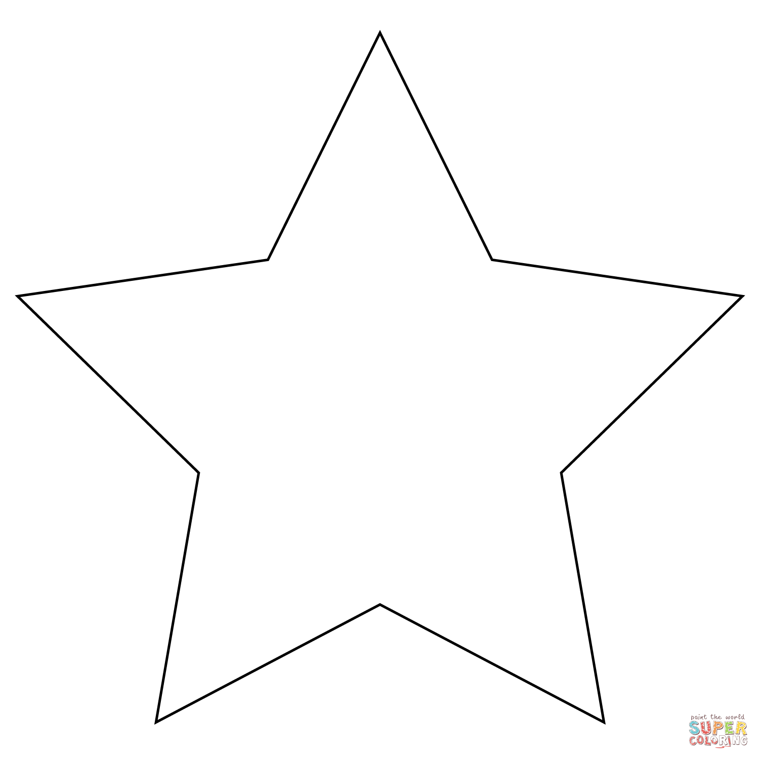 30+ Marvelous Photo of Star Coloring Pages