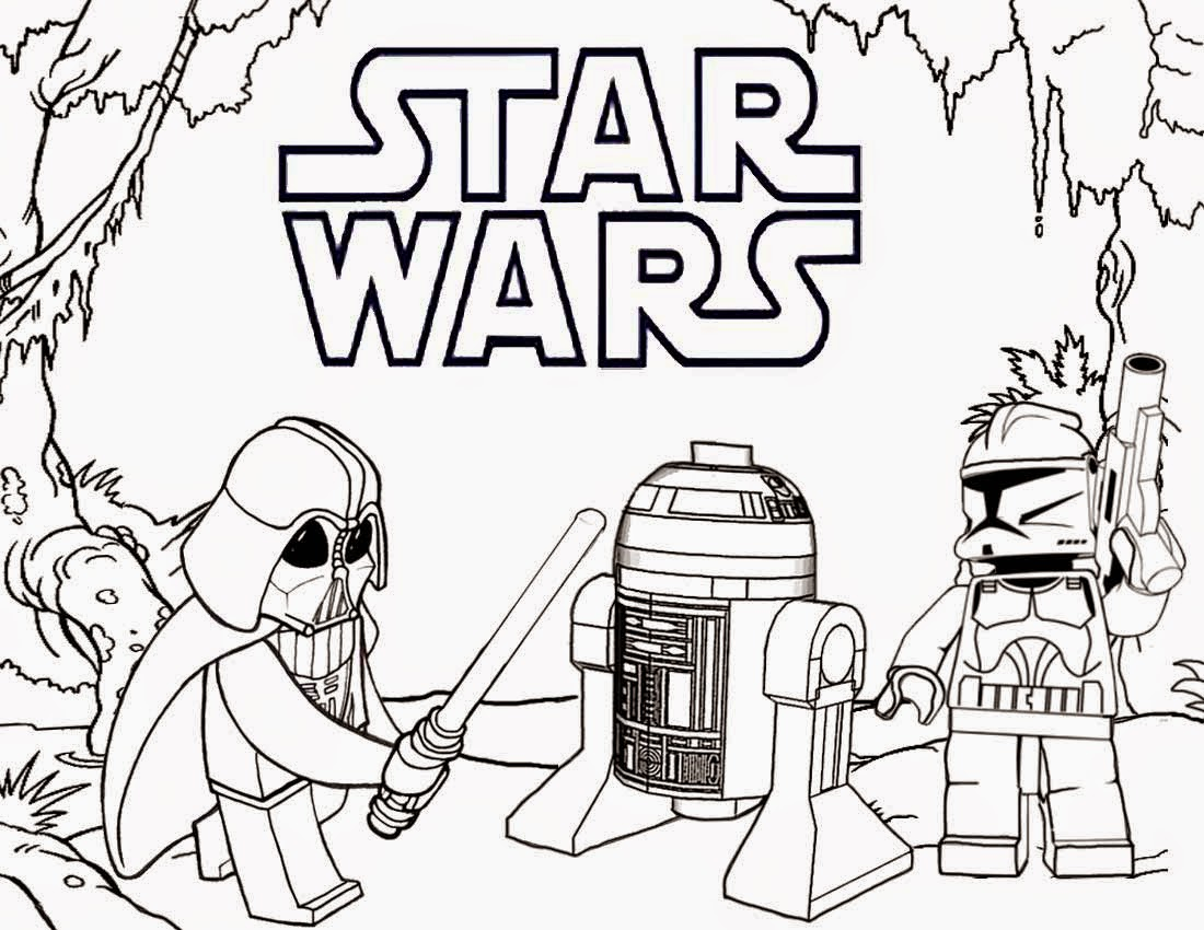 25+ Inspiration Picture of Star Wars Coloring Page