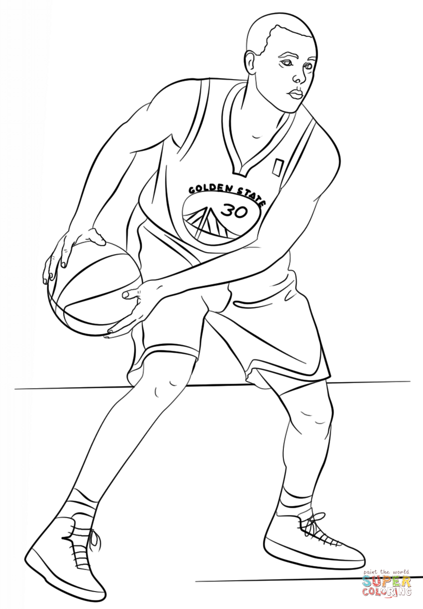 25+ Inspired Photo of Stephen Curry Coloring Pages