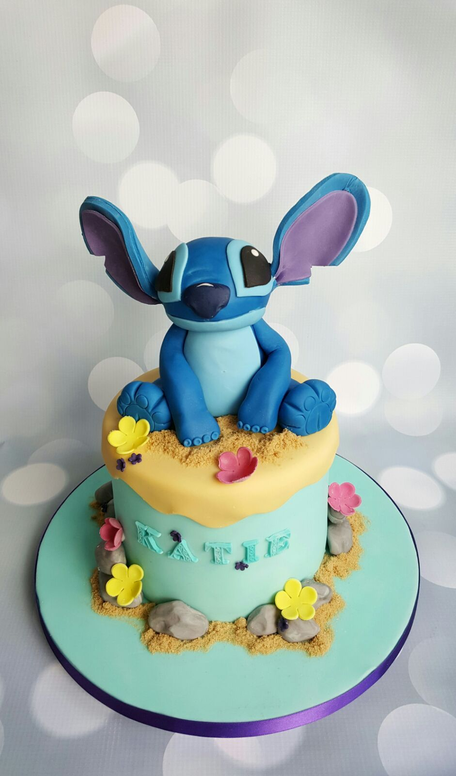 35+ Marvelous Picture of Stitch Birthday Cake