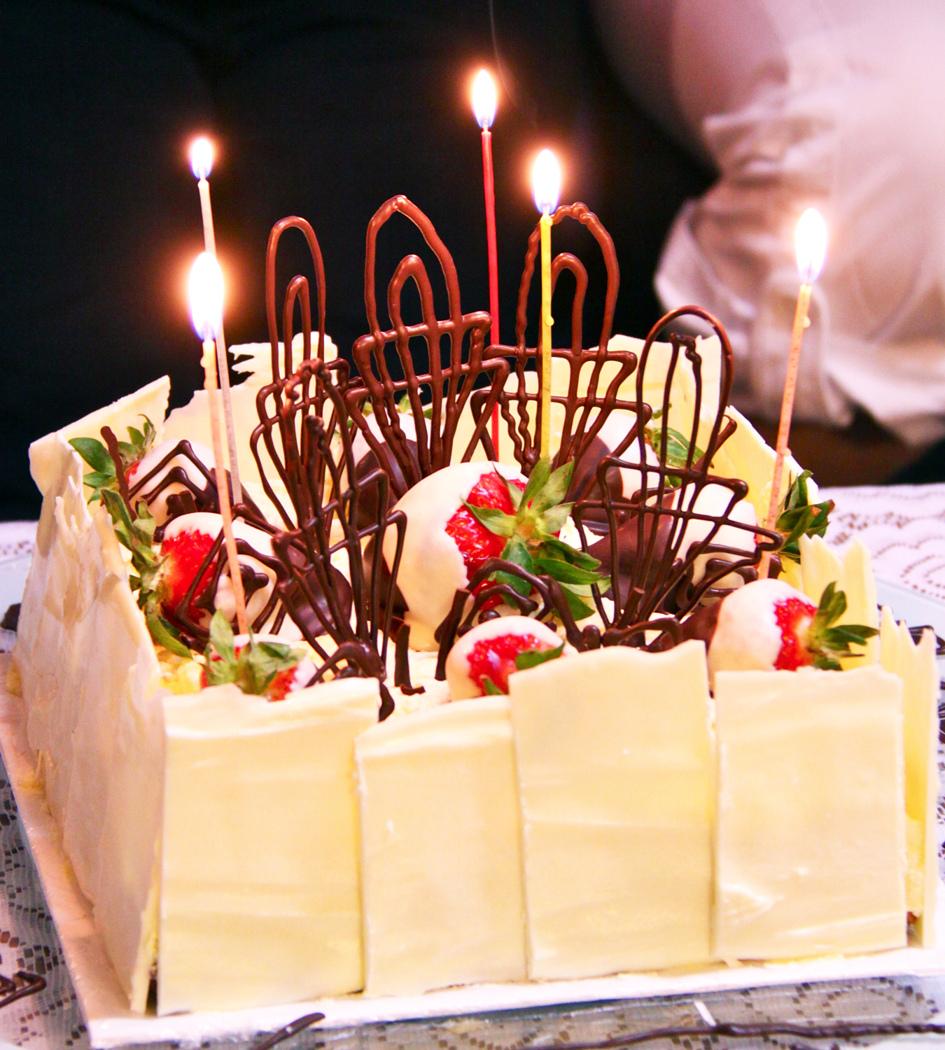 Strawberry Birthday Cakes Sweet Art Milbre Moments Chocolate Cake