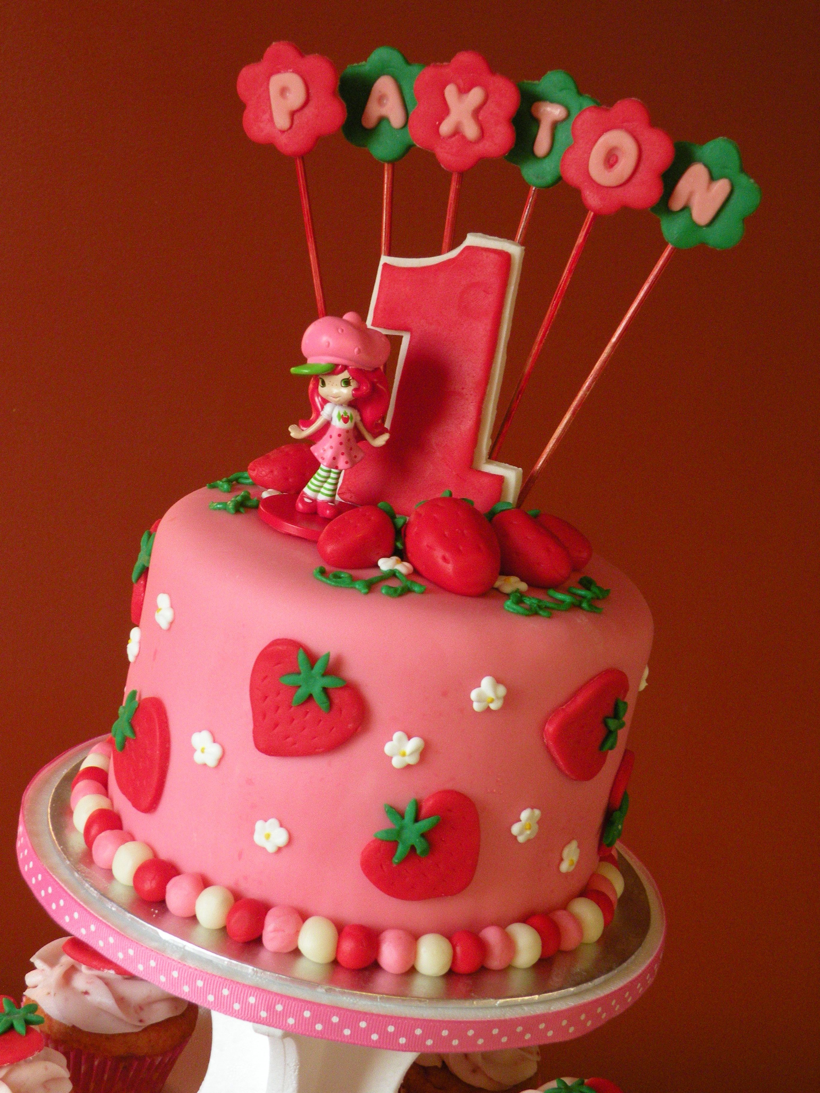 30 Excellent Image of Strawberry Shortcake Birthday Cake