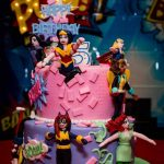 Superhero Birthday Cake Dc Superhero Girls Birthday Cake Dc Superhero Girls Birthday Party