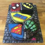 Superhero Birthday Cake Occasion Cakes Edinburgh Toots Sweet