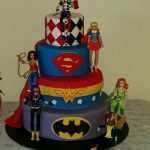 Superhero Birthday Cake Superhero Dc Comics Girls Harley Quinn Birthday Cake Mazie Is 4