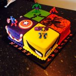 Superhero Birthday Cake Theretroinc On Etsy Cakes For Kids Pinterest Birthday Cake