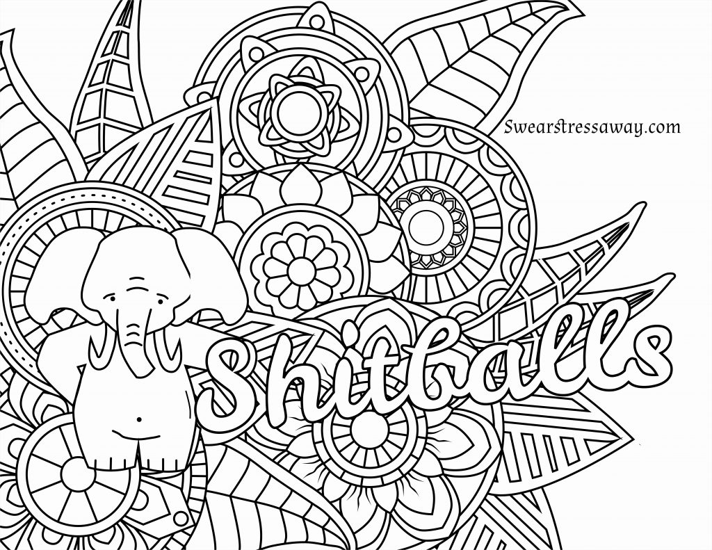 30+ Creative Image of Swear Word Coloring Pages