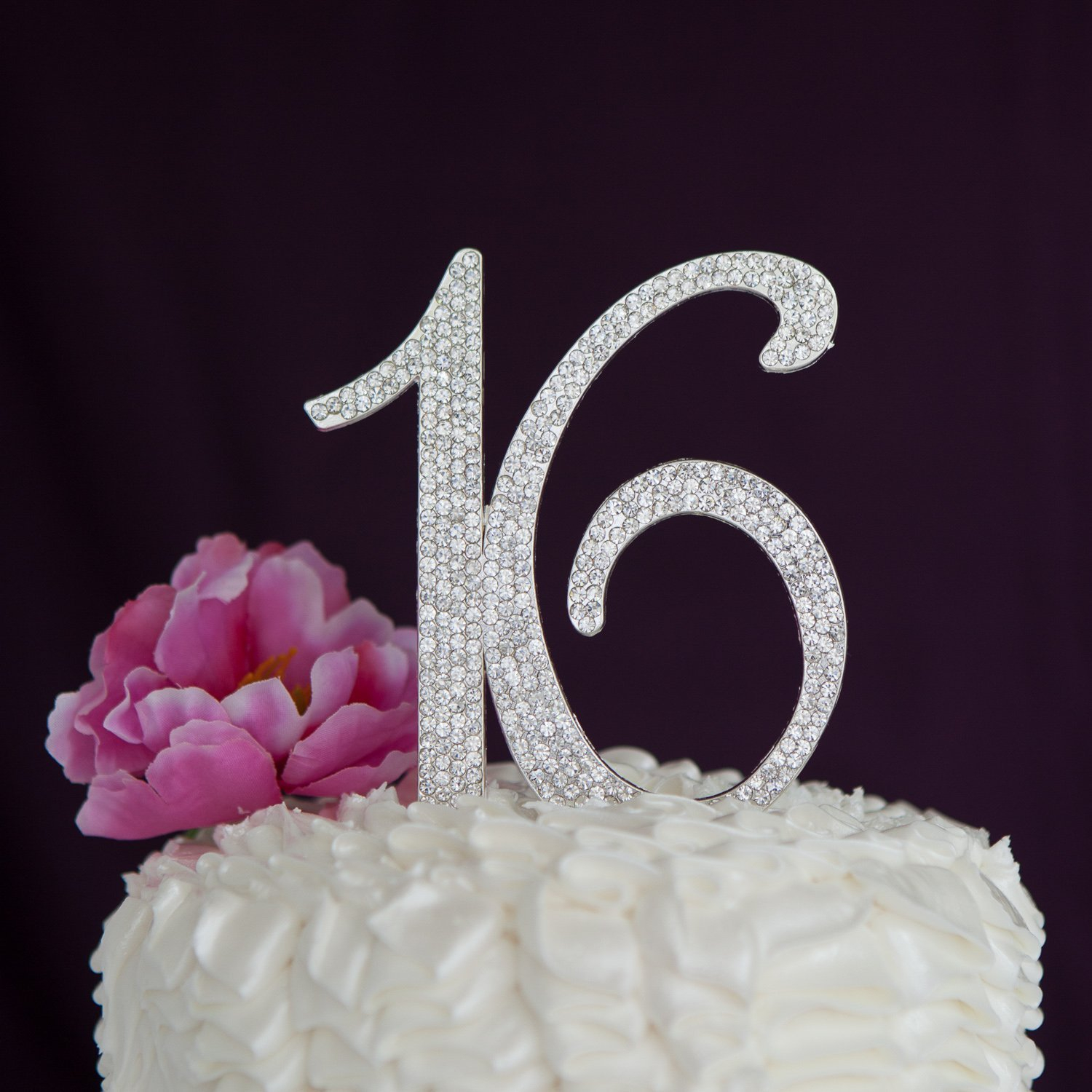 Sweet 16 Birthday Cake Sweet 16 Cake Topper 16th Birthday Party Supplies Decoration Ideas