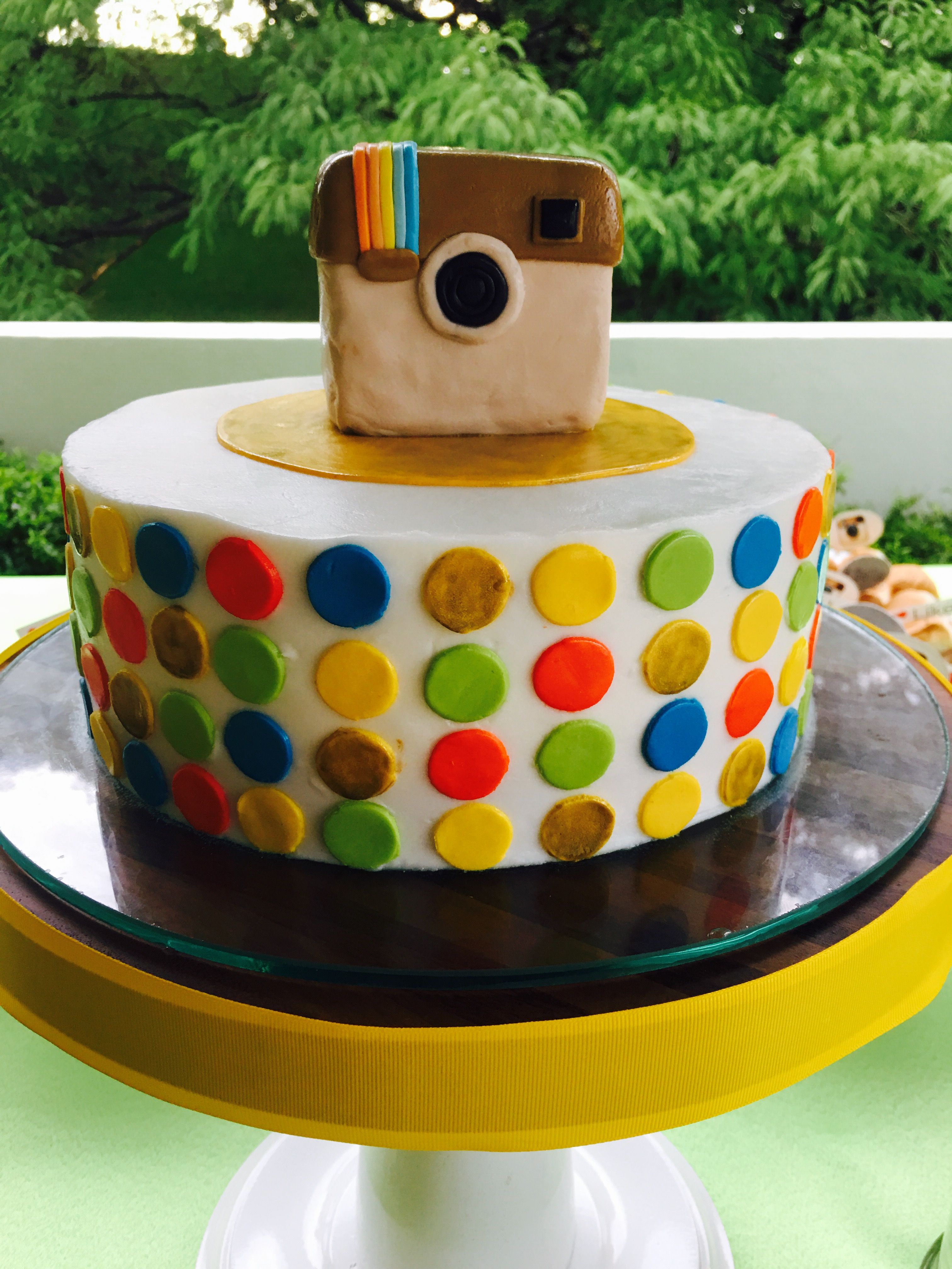 Teen Birthday Cake Instagram Cake Instagram Party Social Media Ideas Teens
