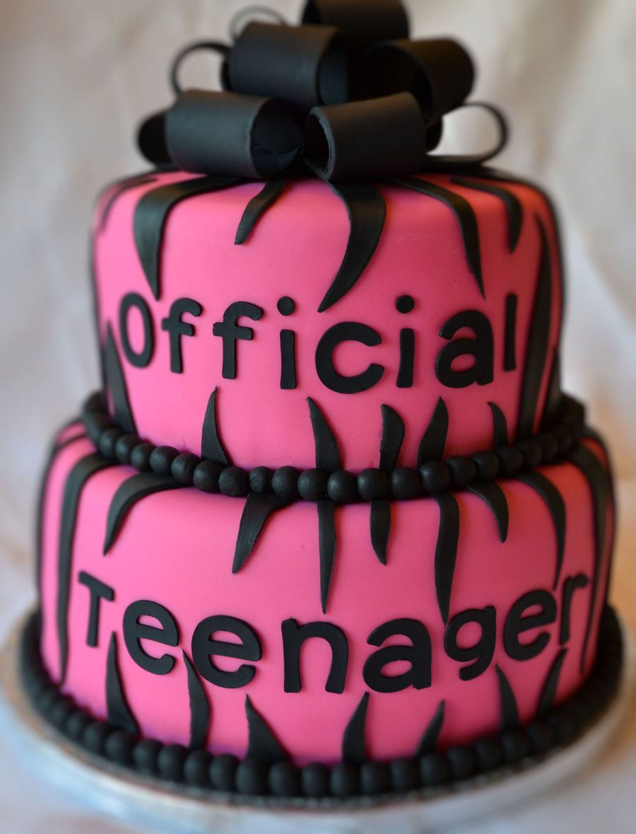 Teen Birthday Cake Official Teenager Birthday Cake On Cake Central Misc 13th