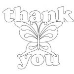 Thank You Coloring Pages Helpful Thank You Coloring Pages Free Printable 2304851