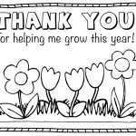 Thank You Coloring Pages Thank You Coloring Pages For Kids Collection Printable Photos 2