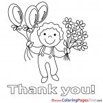 Thank You Coloring Pages Thank You Coloring Pages Free With Printable 2747443 24003000