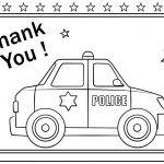 Thank You Coloring Pages Thank You Police Coloring Page Free Printable Coloring Pages