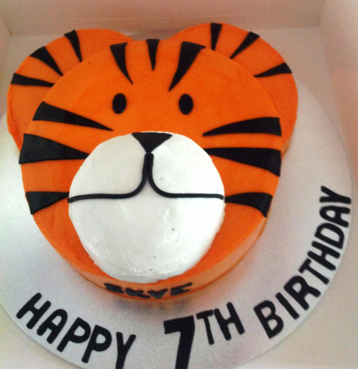 Tiger Birthday Cake Children Birthday Cakes Gold Coast All Occasions Speciality Cakes