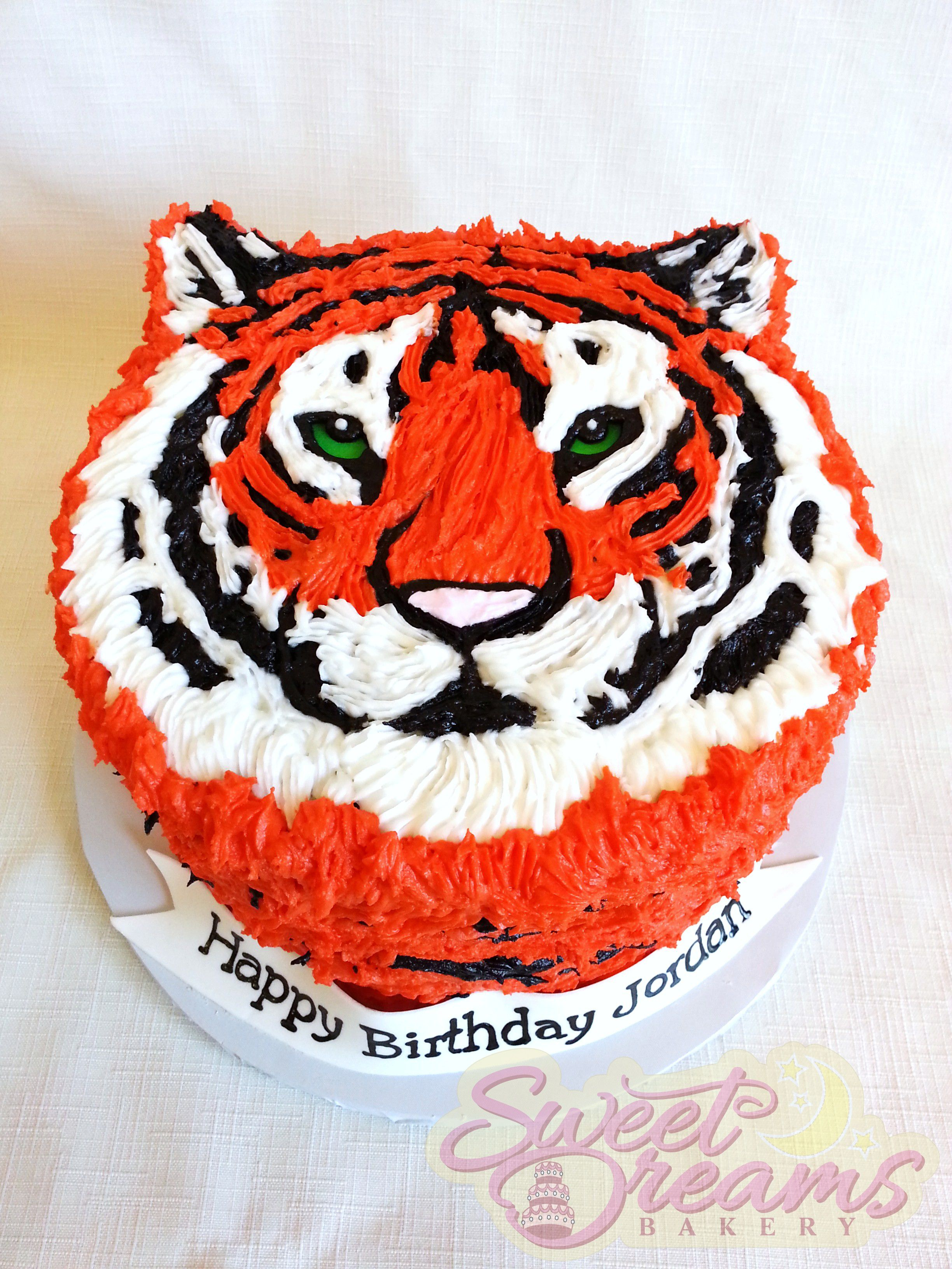 Tiger Birthday Cake Tiger Cake From Sweet Dreams Bakery Tennessee Cakes From Sweet