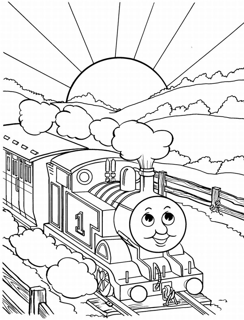 Train Coloring Pages Coloring Page Coloring Page Best Train Books Thomas The Pages Book