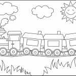 Train Coloring Pages Coloring Page Thomas Train Coloring Pages Free Printable For Kids