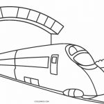 Train Coloring Pages Free Printable Train Coloring Pages For Kids Cool2bkids