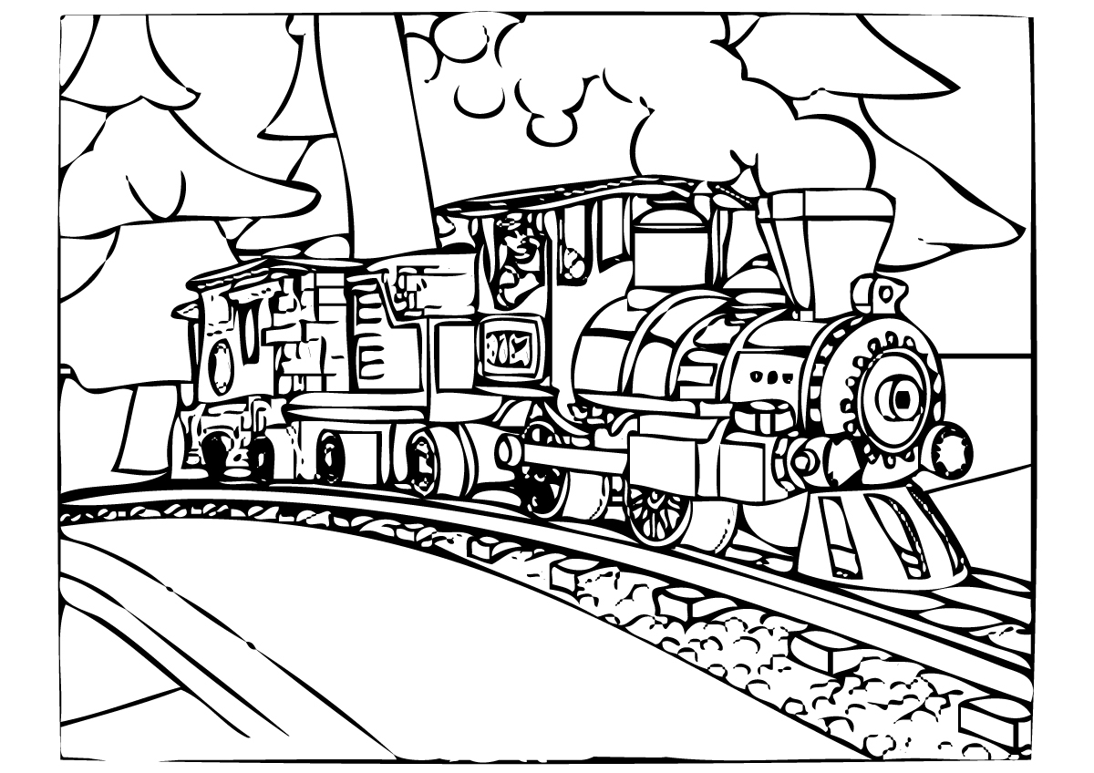 Train Coloring Pages Polar Express Coloring Pages Best Coloring Pages For Kids