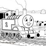 Train Coloring Pages Printable Thomas The Train Coloring Pages Home With Sheets 25f For