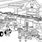 Train Coloring Pages Thomas The Train Color Pages Coloring Trains 9 Futurama
