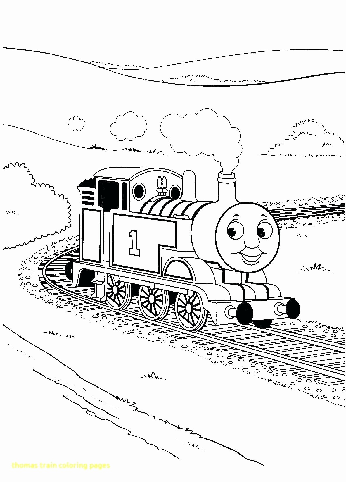 Train Coloring Pages Thomas The Train Printable Coloring Pages Elegant Thomas The Train