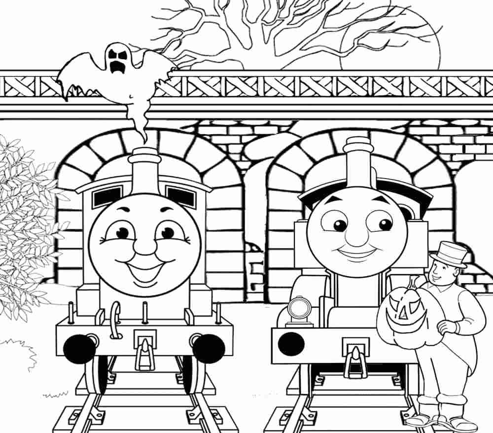 Train Coloring Pages Thomas Train Coloring Pages 93 With 1000878 Attachment