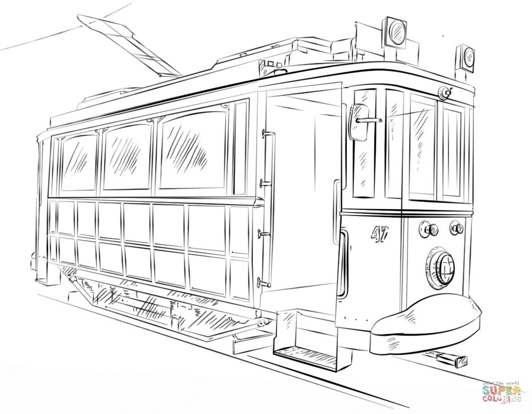 Train Coloring Pages Trains Coloring Pages Free Coloring Pages