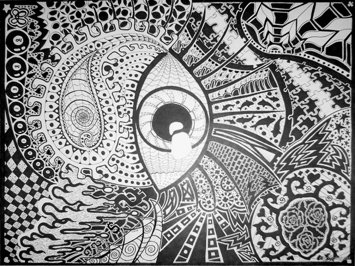 Trippy Coloring Pages 1539819677 Trippy Coloring Pages Printable With Psychedelic Art