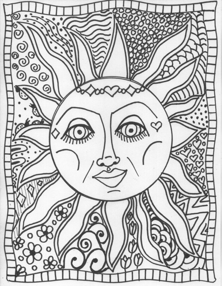 Trippy Coloring Pages Coloring Page Trippy Colorings Marvelous Printable Psychedelic