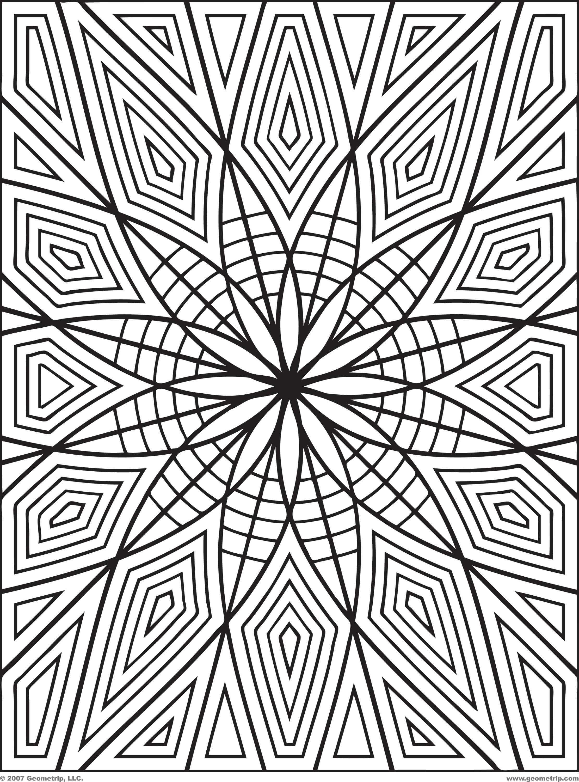 Trippy Coloring Pages Of Trippy Coloring Pages Pictures Printable