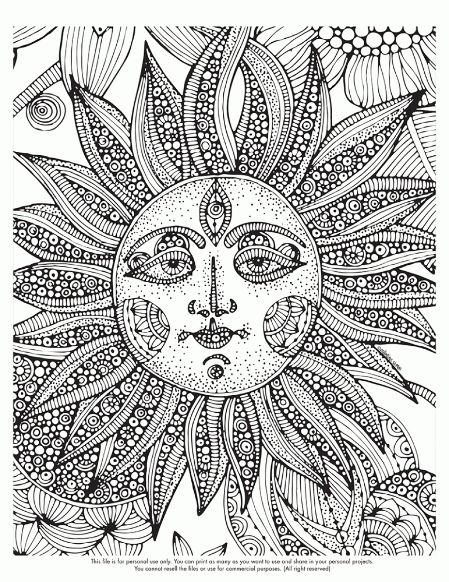 Trippy Coloring Pages Trippy Coloring Pages For Adults
