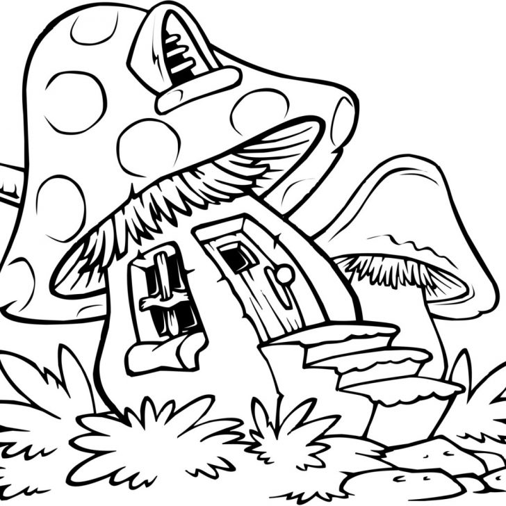 Trippy Coloring Pages Trippy Mushroom Free Coloring Pages On Art Coloring Pages