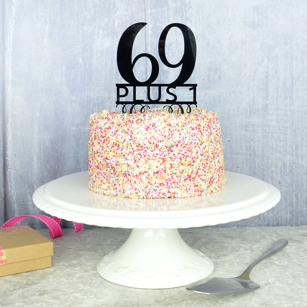Turquoise Birthday Cake 70th Birthday Cake Topper Pink And Turquoise Notonthehighstreet