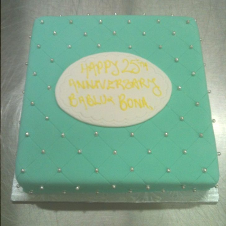 Turquoise Birthday Cake Birthday Cake Turquoise Silver Pearls 381 Select Bakery