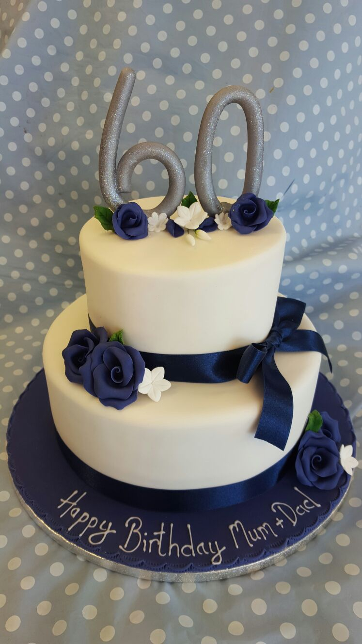 Two Tier Birthday Cake 2 Tier Birthday Cake Ravens Bakery Of Essex Ltd