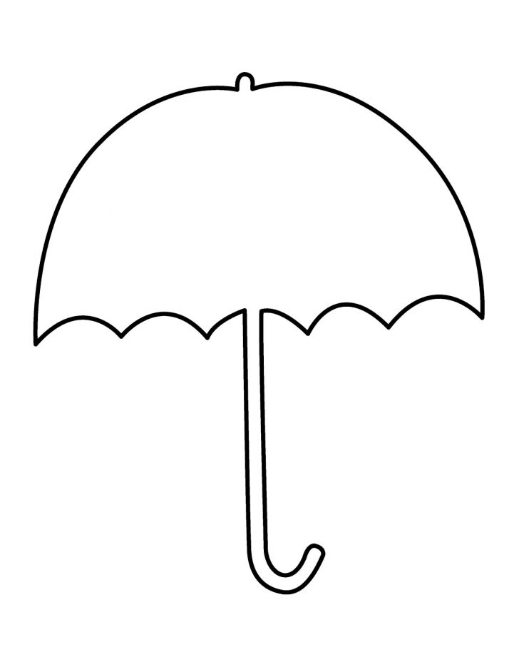 Umbrella Coloring Page Free Printable Umbrella Template Download Free Clip Art Free Clip