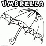 Umbrella Coloring Page Large Umbrella Coloring Page 2019 Open Coloring Pages