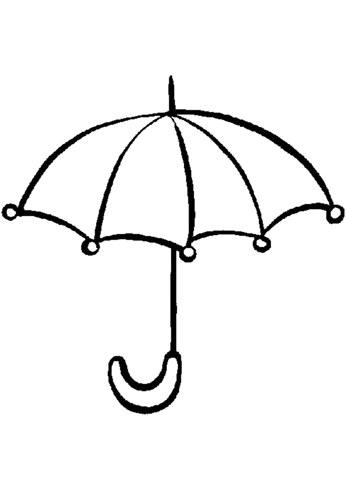 Umbrella Coloring Page Umbrella Coloring Page Fresh Pages With Umbrellas New Of 11