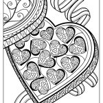 Valentines Day Coloring Pages For Adults 4 Free And Printable Valentines Day Coloring Pages For Adults That