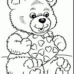 Valentines Day Coloring Pages For Adults 52 Best Of Teddy Bear Coloring Pages For Adults Brainstormchi