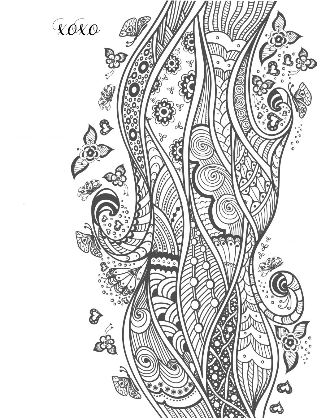 Valentines Day Coloring Pages For Adults Free Printable Valentine Coloring Pages For Adults Valentines Day 20