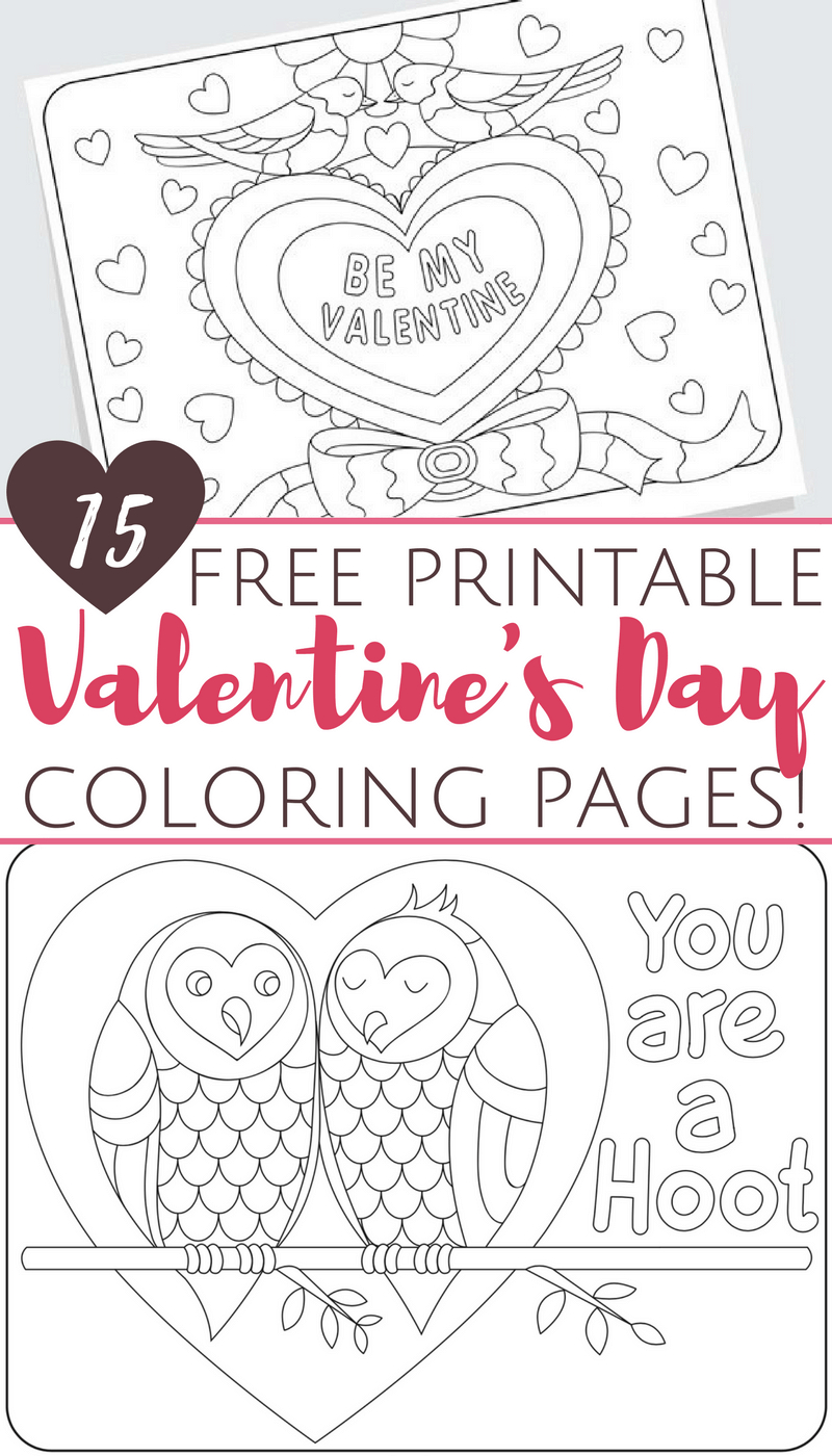 Valentines Day Coloring Pages For Adults Free Printable Valentines Day Coloring Pages For Adults And Kids